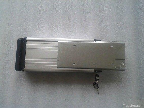 48V10Ah LiFePO4 rear rack battery pack for e-bike