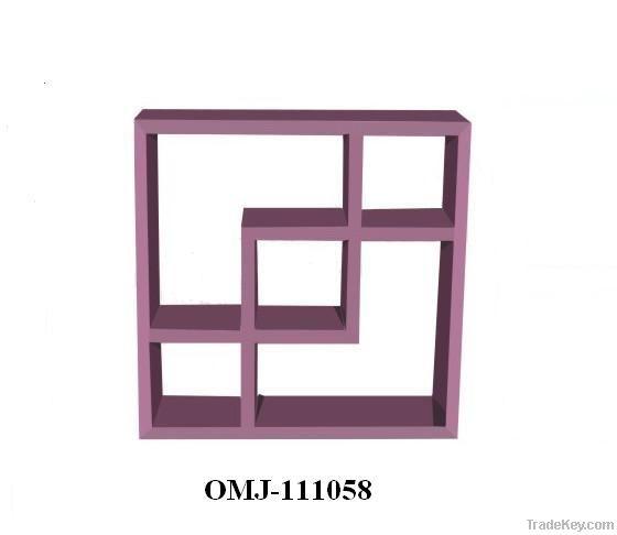 Cube Cross Display Shelf