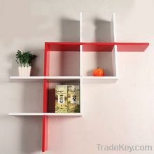 Beautiful shinny floating wall shelf