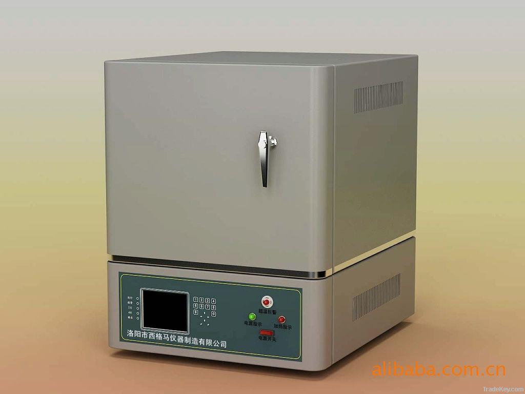 laboratory muffle furnace for heat treatment