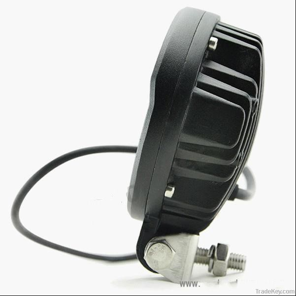 LED Work Lamp with a round and 18W power