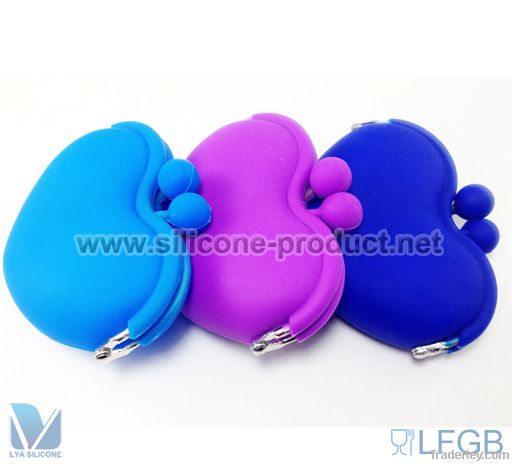 SILICONE COIN PURSE AND WALLET