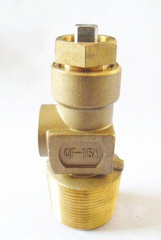 Brass C2H2 Cylinder Valve (QF-15A)