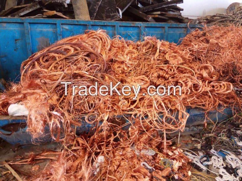 Copper Wire Millberry Scrap 99.99%.