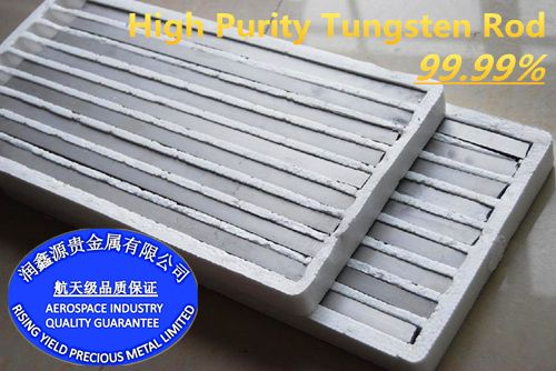 High purity Tungsten Bars / Rods in aerospace industry quality