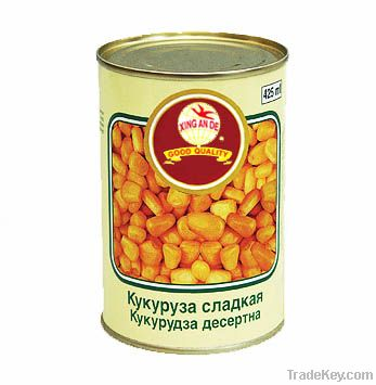 canned sweet corn kernel in brine 425ml