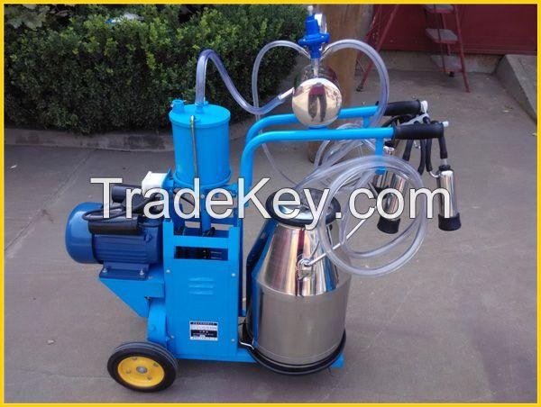 piston type milking machine