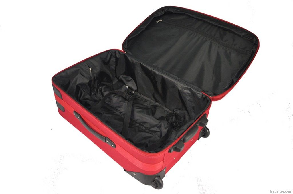 Luggage with expandable layer, made of 600d polyester, 20, 24, 28''