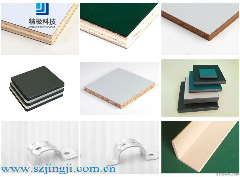 Anti-static physiochemical board