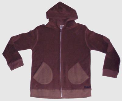 Men's Hemp Fleece Hooded Jacket