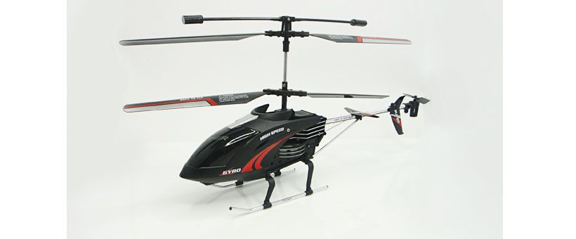 3.5 CH RC alloy helicopter with gyro and light