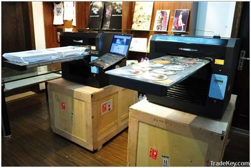DTG Flatbed Printer A3 8 colors Full Package