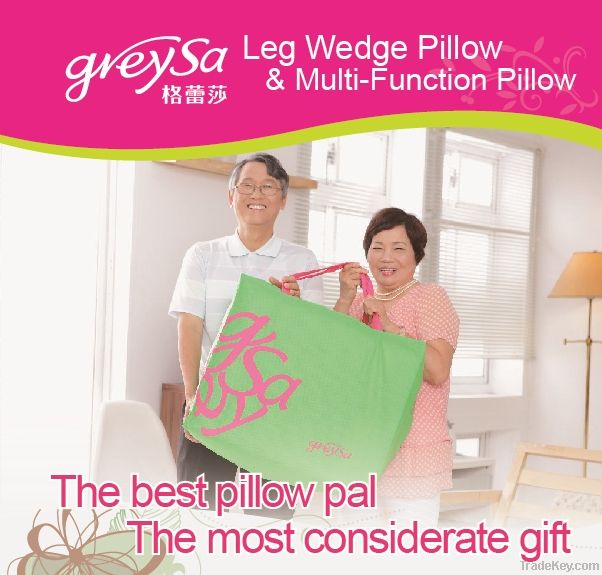Leg Wedge Pillow-Pink