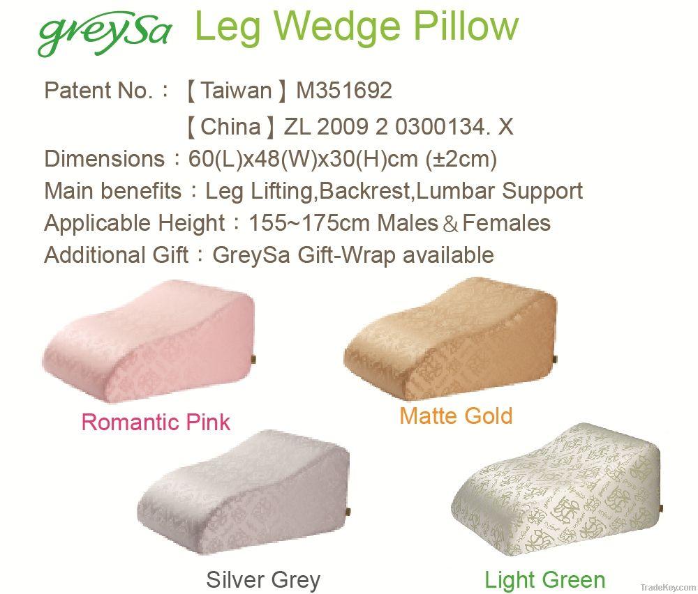 Leg Wedge Pillow-Light Green