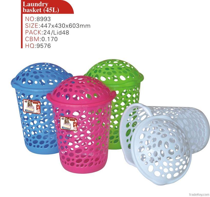 Plastic Laundry Bakset