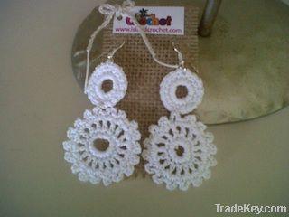 Crochet Earrings/Necklace