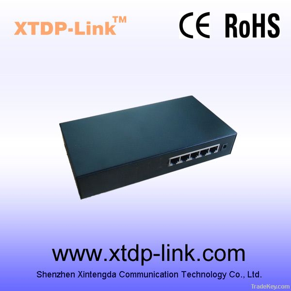 IEEE802.3af POE switch 5 port best for wireless AP/IP camera/IP phone