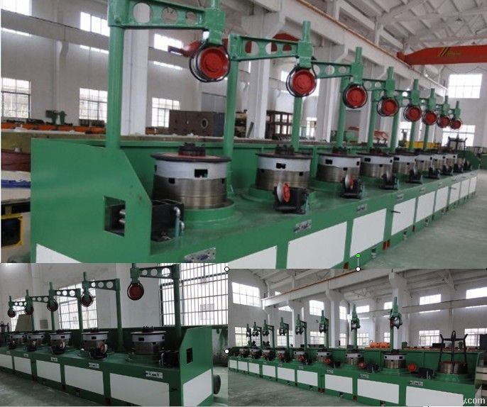 OTO Type Steel Wire Drawing Machine LW9/400 Controlled by PLC