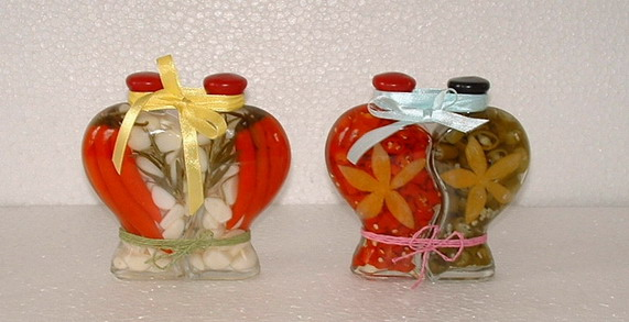 fruit vinegar bottle