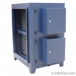 Electrostatic Air Cleaner with smoke eater
