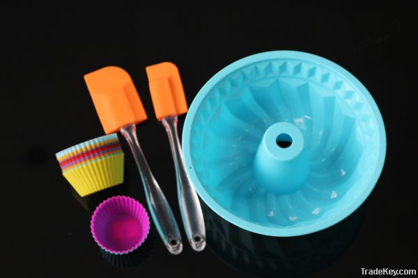 cook essental silicone cake mould