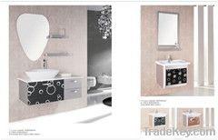 SS bathroom vanity