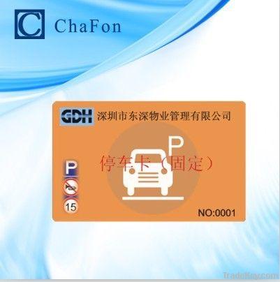 UHF epc gen 2 passive rfid card