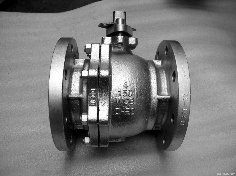 API flanged  ball valve