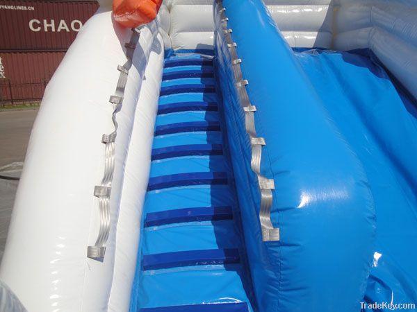 Inflatable Glacier Slide