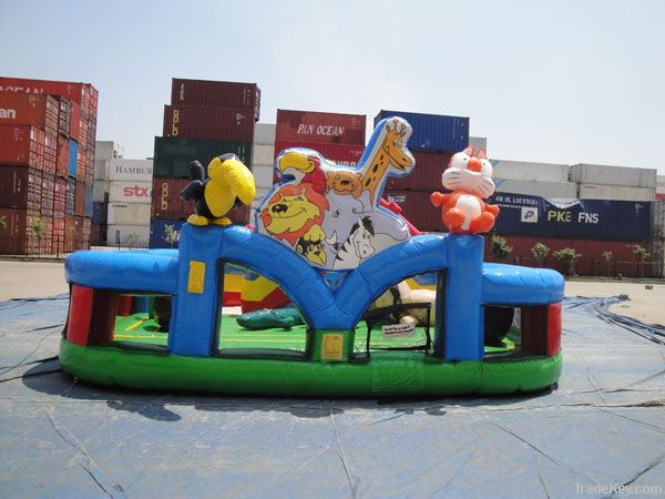Wild Animal Zoo (Inflatable Town)