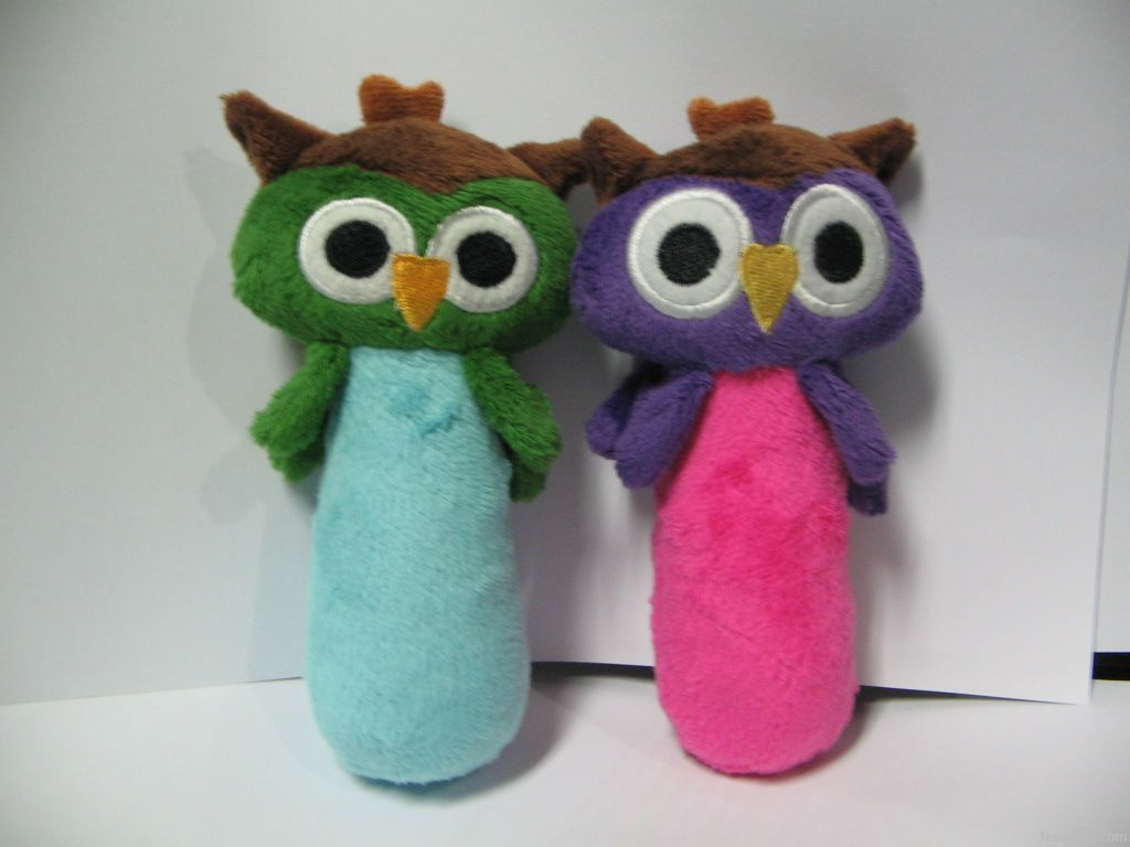Owl rattles