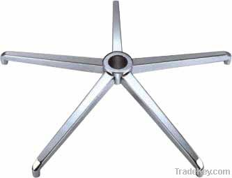 aluminum five star chair base, table base, chair and table foot