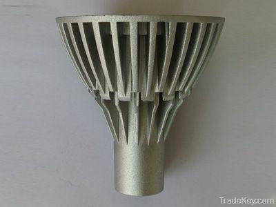 aluminum alloy shell spot light.LED bulb housing, housing die casting