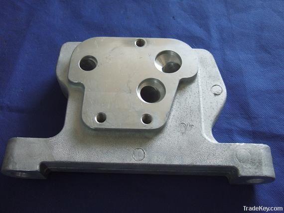Aluminum die casting parts for train parts