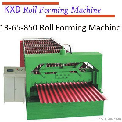 850 Roof roll forming machine