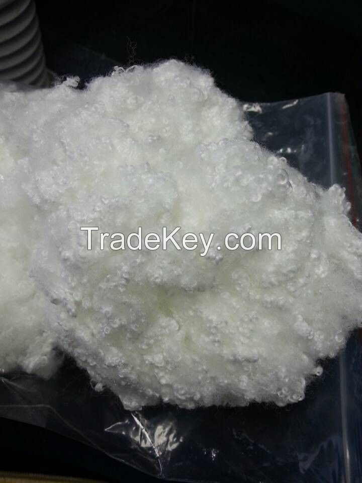 wholesale polyester fiber fill-recycled polyester staple fiber to fill pillow