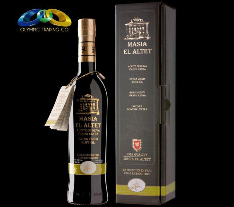 Masia el Altet High Quality EVOO Masia el Altet High Quality, Worldwide Award Winning Cold Pressed EVOO Extra Virgin Olive Oil