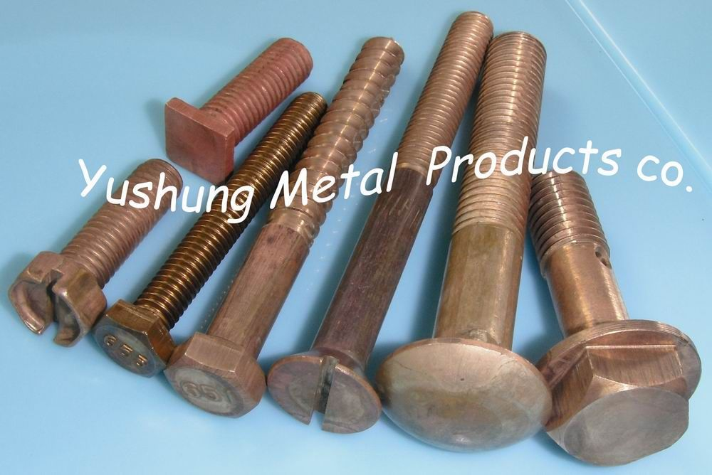Silicon Bronze Bolts in C65100 and C65500