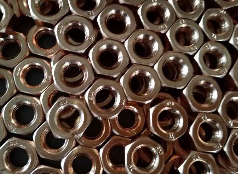 CuNiSi Cu5 Bronze Nuts