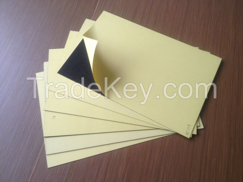 double adhesive 0.5mm 1mm 1.5mm 2mm PVC sheet for photo album