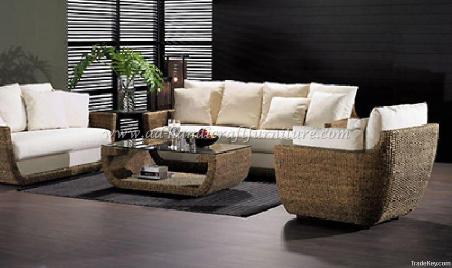 water hyacitnh sofa set