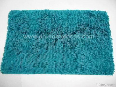 Microfiber chenille bath ma t