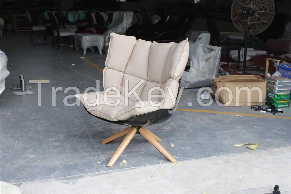 Husk chair, outdoor and indoor husk lounge chair