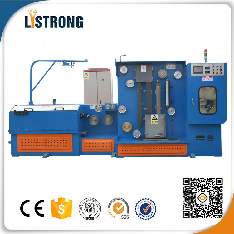 22DHT Fine EDM brass wire drawing machine with annealer