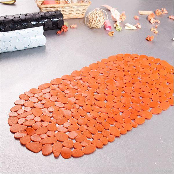 Pebble pvc bath mat