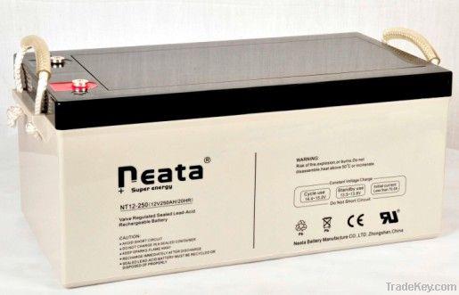 Telecom Lead Acid Battery 12V-250ah (ISO, CE, UL, RoHS)