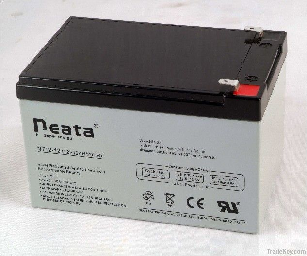 UPS Lead Acid Battery (ISO, CE, UL, RoHS) (NT12V-7.0AH)