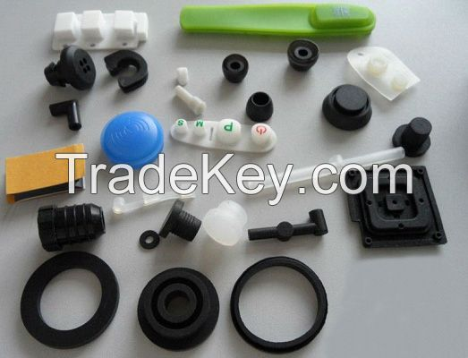 Molded customized Rubber Parts Rubber Spare Parts Rubber Products for Industrial use in EPDM NR NBR SR SBR