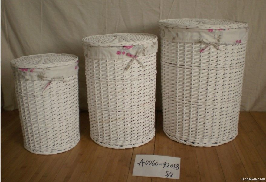 Homewood laundry willow basket