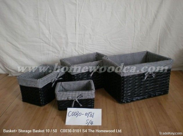 Homewood willow basket
